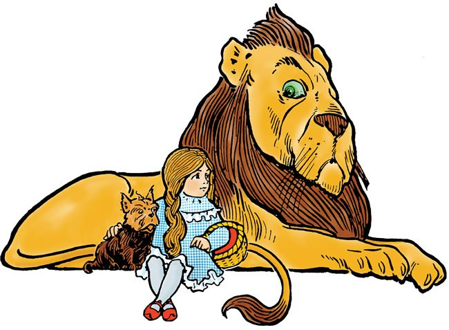 Toto, Dorothy, The Lion