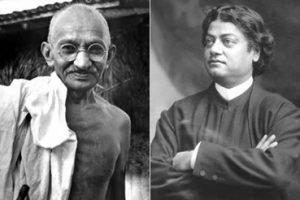 Gandhi & Swami Vivekananda