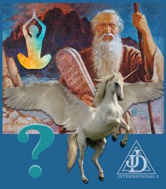 Moses, Job's Daughter, A Unicorn, and Raja Yoga.