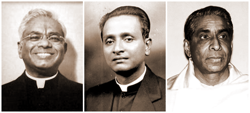 Swami Ashokananda, Swami Nikhilananda, Swami Sarvagatananda