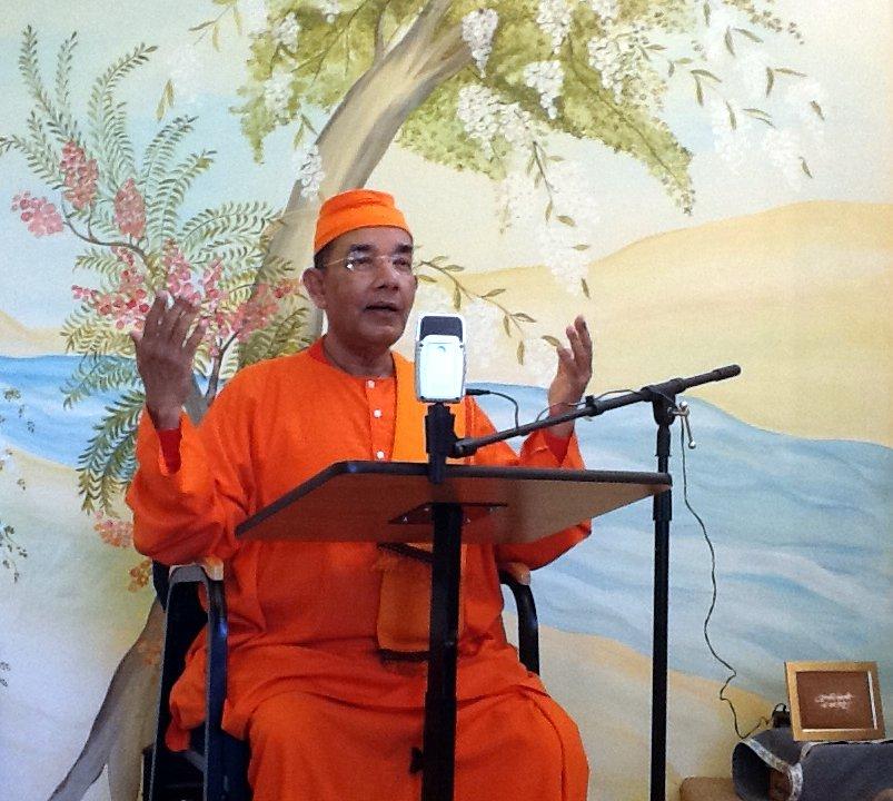 Swami Ishatmananda, Minister-In-Charge, Vivekananda Vedanta Society of Chicago