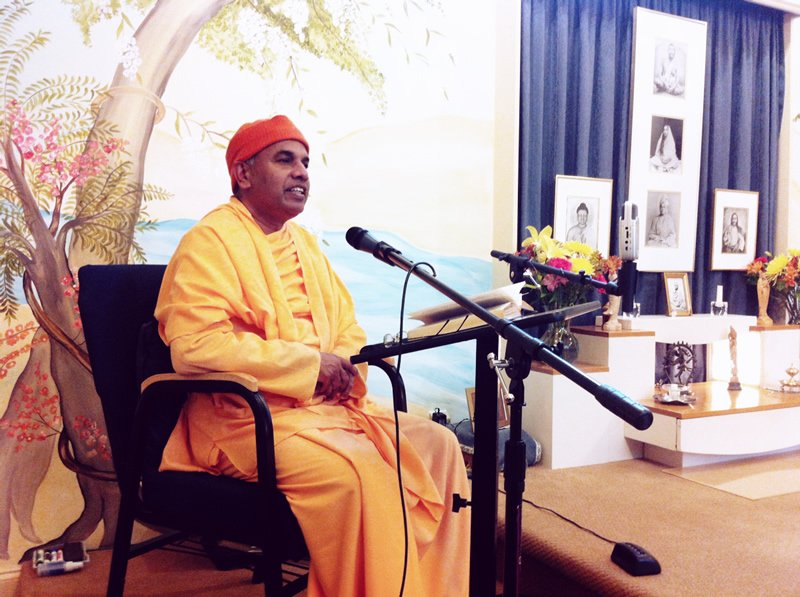 Swami Nirmalatmanandaji