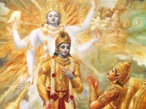 Sri Krishna & Arjuna