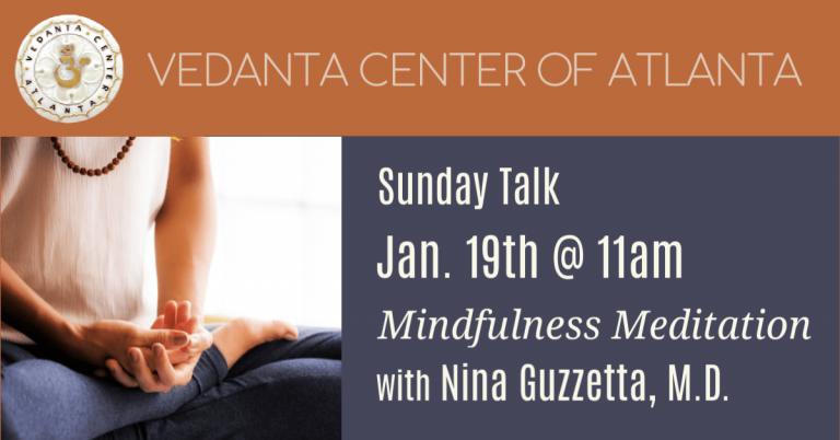 Mindfulness Meditation – Nina Guzzetta, M.D.